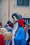 Carnevale in Xinzo de Limia Immagini Stock Libere da Diritti