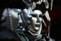 Carnevalemaskers in Venetië Royalty-vrije Stock Fotografie