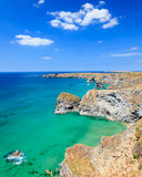 Carnewas Cliffs Cornwall England Royalty Free Stock Images
