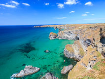 Carnewas Cliffs Cornwall England Royalty Free Stock Photo