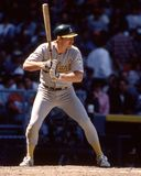 Carney Lansford, Oakland Athletics stock fotografie