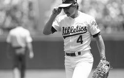 Carney Lansford, Oakland Athletics fotos de stock royalty free