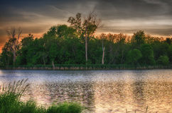 Carney marsh wetlands near des moines, iowa Royalty Free Stock Photos