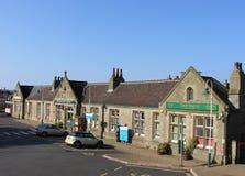 Carnforth station och arvmitt, Lancashire Arkivfoto