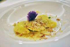 Carnia traditional cuisine, Friuli region, Italy Royalty Free Stock Images