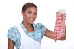 Carniceiro fêmea imagem de stock royalty free