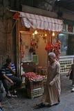 Carnicería en el Souk famoso de Alepo en Siria imagenes de archivo