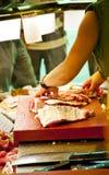 Carnicero Foto de archivo libre de regalías
