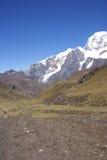 Carnicero Berg in hohen Anden Stockfoto