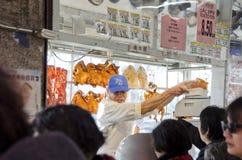 Carnicero chino Foto de archivo
