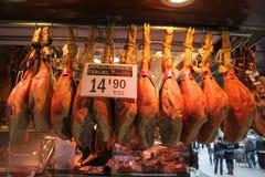 Carnicero de Barcelona Fotos de archivo