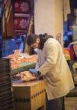 Carnicero griego Fotografía de archivo libre de regalías