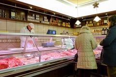 Carnicero italiano Fotografía de archivo libre de regalías