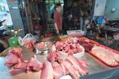 Carnicero vietnamita Imágenes de archivo libres de regalías