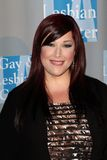 Carnie Wilson at the L.A.Gay and Lesbian Center  Royalty Free Stock Photography