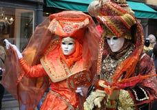 Carnilalen av Venedig 1 Fotografering för Bildbyråer