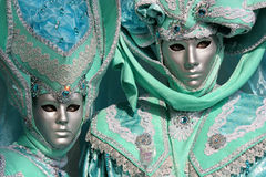 Carnilalen av Venedig 2 Fotografering för Bildbyråer