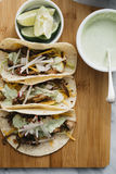 Carnitas Taco Fixings Stock Images
