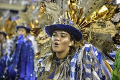 Carnival 2018 – Beija -Flor Royalty Free Stock Photos