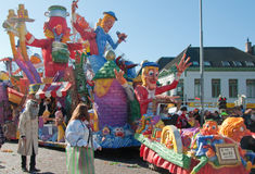 Carnival 2011 in Breda (Netherlands) Royalty Free Stock Photo