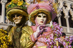 Carnival-2013 Venetian Foto de Stock Royalty Free
