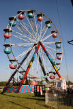 Carnival 3. Ferris Wheel at Small Town Carnival royalty free stock photos