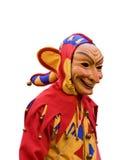 Carnival. Funny carnival mask on a parade Royalty Free Stock Photos