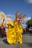 Carnival 7. Carnival costumes from the town of Ponce Royalty Free Stock Photography
