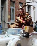 Carnival Aalst王子2016年 免版税库存图片