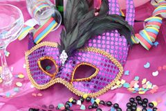 Carnival accessories Stock Photo