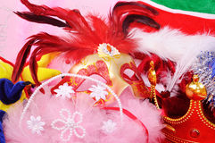 Carnival accessories Stock Images
