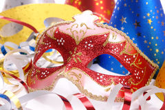 Carnival accessories Royalty Free Stock Images