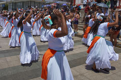 Carnival in Arica, Chile Royalty Free Stock Photos