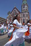 Carnival in Arica, Chile Stock Image