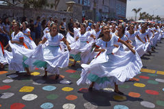 Carnival in Arica, Chile Royalty Free Stock Photography