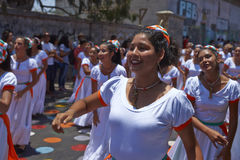 Carnival in Arica, Chile Stock Photo