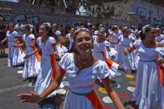 Carnival in Arica, Chile Royalty Free Stock Photo