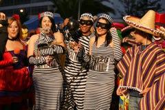 Carnival in Arrecife Lanzarote 2009 Stock Photos