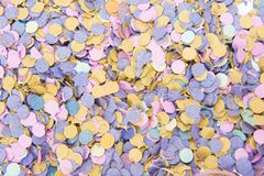 Carnival Background. Colorful carnival confetti background texture