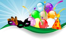 Carnival background Royalty Free Stock Images