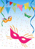 Carnival background stock illustration