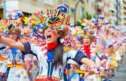 Carnival of Badajoz Royalty Free Stock Photos