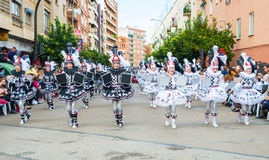 Carnival of Badajoz Stock Photos
