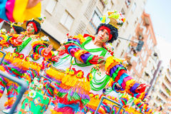 Carnival of Badajoz Royalty Free Stock Photo
