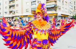 Carnival of Badajoz Royalty Free Stock Images
