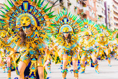 Carnival of Badajoz Stock Image