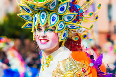 Carnival of Badajoz Royalty Free Stock Photography