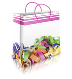 Carnival bag Royalty Free Stock Images