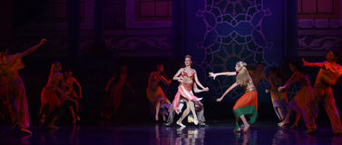 """Carnival- ballet """"One Thousand and One Nights"""" Royalty Free Stock Image"""