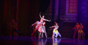 """Carnival- ballet """"One Thousand and One Nights"""" Royalty Free Stock Images"""